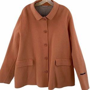 Marina Rinaldi size 20 virgin wool coat jacket